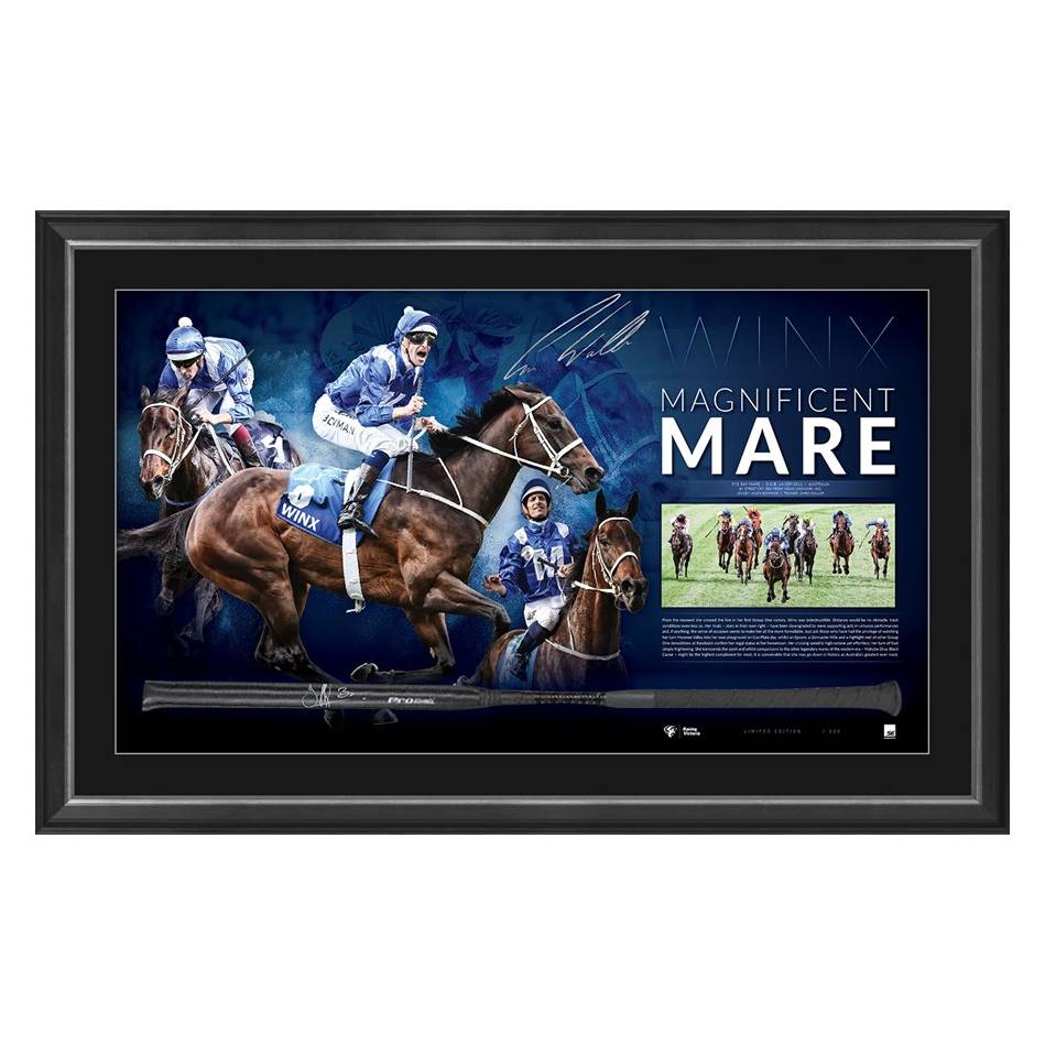 mainMAGNIFICENT MARE – DUAL SIGNED WINX WHIP0