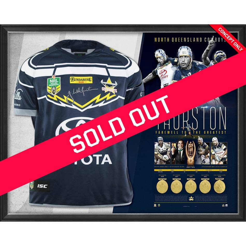 mainJohnathan Thurston Career Retrospective Signed Jersey0