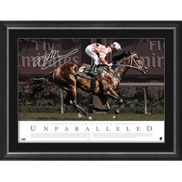 BLACK CAVIAR SIGNED 'UNPARALLELED'