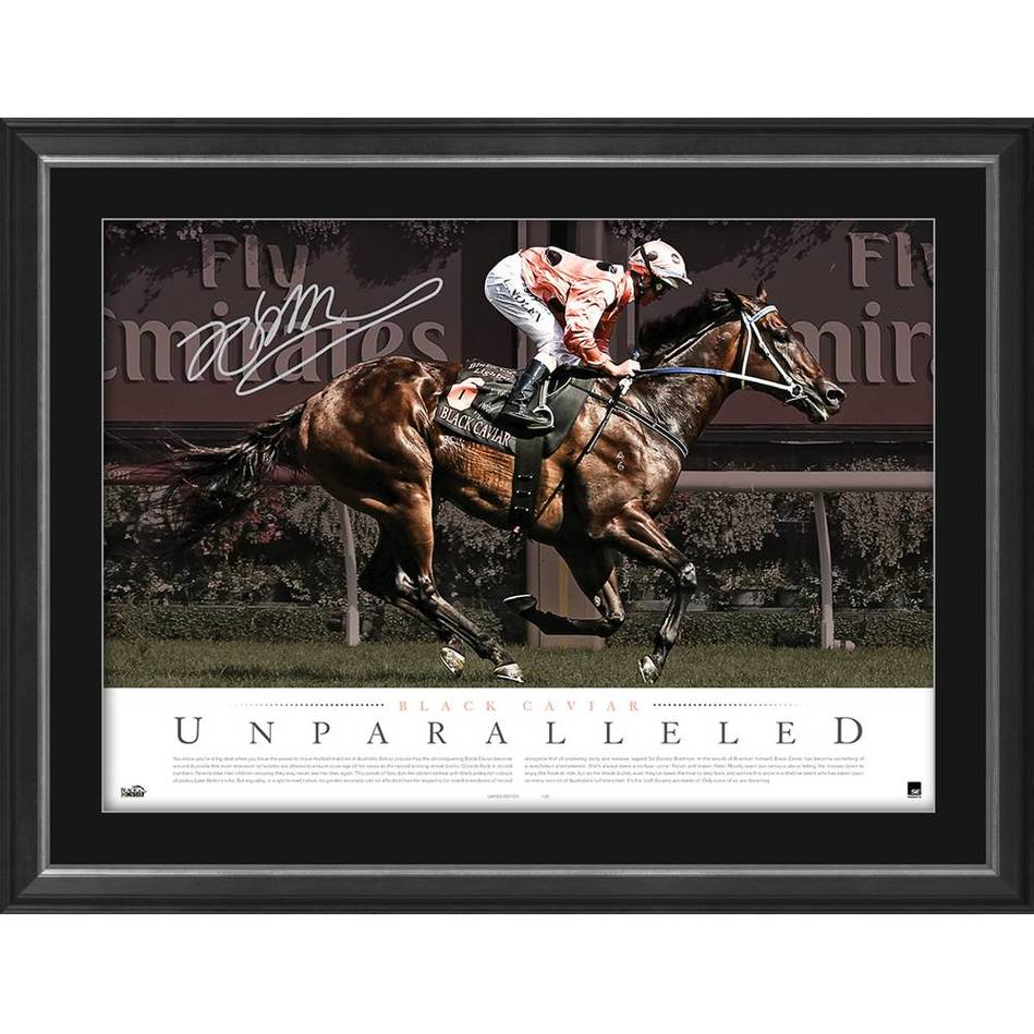 mainBLACK CAVIAR SIGNED 'UNPARALLELED'0
