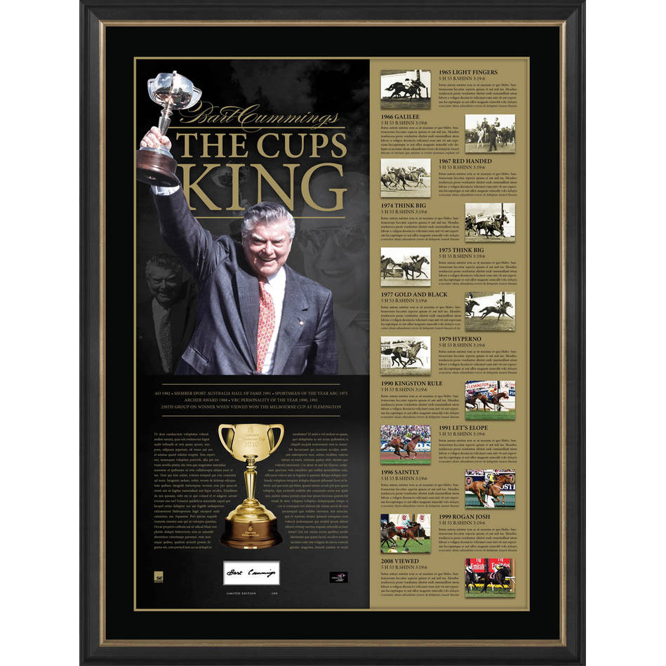 mainBART CUMMINGS SIGNED 'THE CUPS KING'0