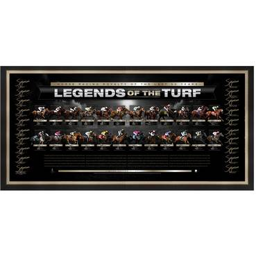 LEGENDS OF THE TURF SIGNED LITHOGRAPH