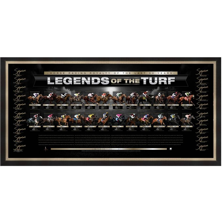 mainLEGENDS OF THE TURF SIGNED LITHOGRAPH0