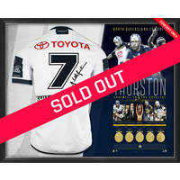 Johnathan Thurston Career Retrospective Signed Farewell Jersey0