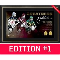 *Edition 1* Johnathan Thurston Signed 'Greatness'0