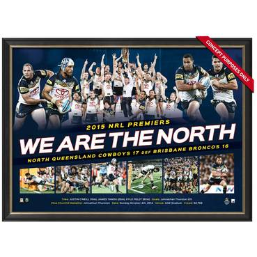 COWBOYS 2015 PREMIERS 'WE ARE THE NORTH'