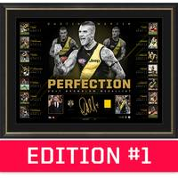 *Edition 1* Dustin Martin Brownlow Signed 'Perfection'0