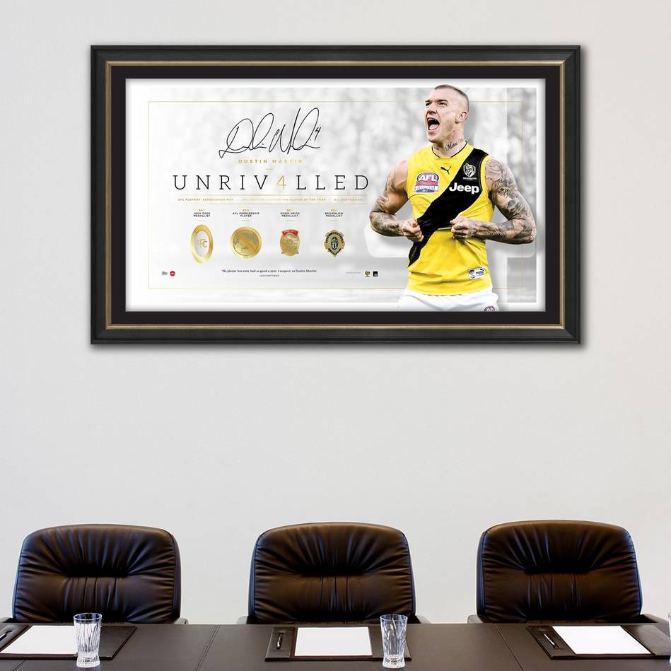 main*Edition 4* Dustin Martin Signed 'Unrivalled'1