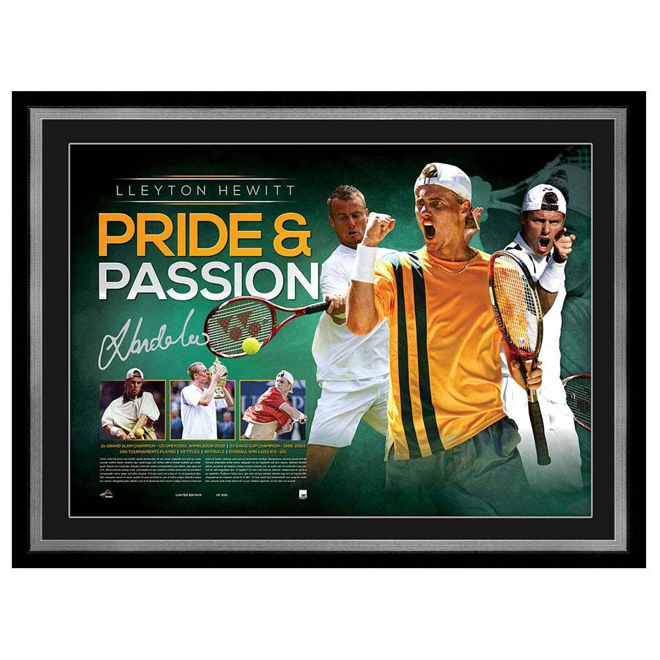 mainLLEYTON HEWITT SIGNED LITHOGRAPH0