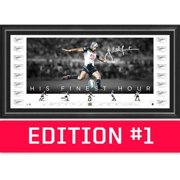 *Edition 1* Johnathan Thurston Team Signed 'His Finest Hour'