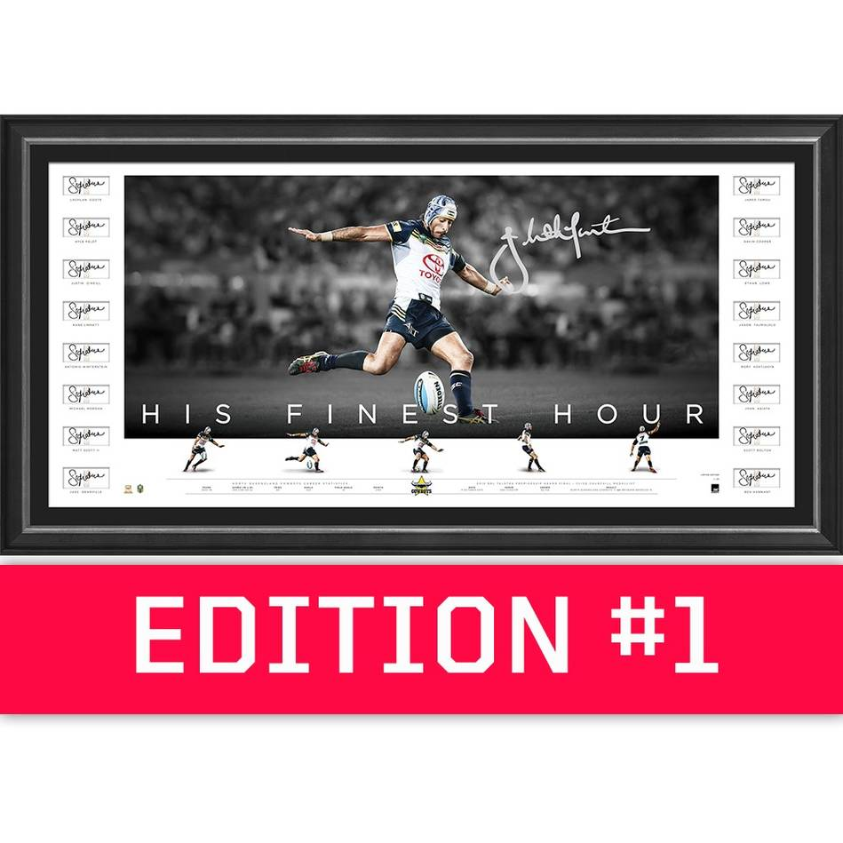 main*Edition 1* Johnathan Thurston Team Signed 'His Finest Hour'0