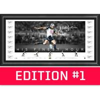 *Edition 1* Johnathan Thurston Team Signed 'His Finest Hour'0