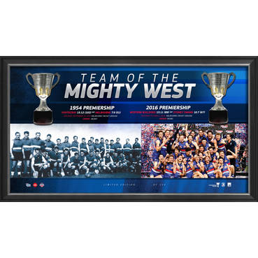 WESTERN BULLDOGS 2016 PREMIERS 'TEAM OF THE MIGHTY WEST'