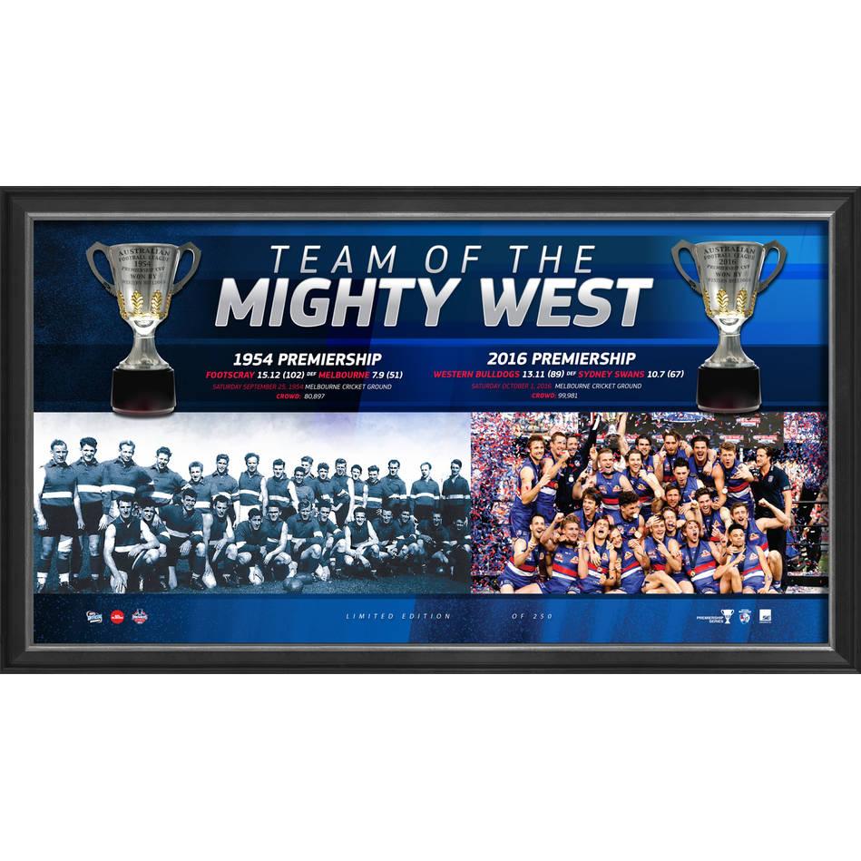 mainWESTERN BULLDOGS 2016 PREMIERS 'TEAM OF THE MIGHTY WEST'0