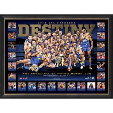 West Coast Eagles 2018 AFL Premiers 'Destiny'