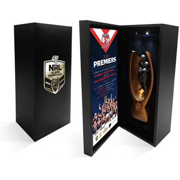 Sydney Roosters 2018 NRL Premiers Replica Mini Trophy