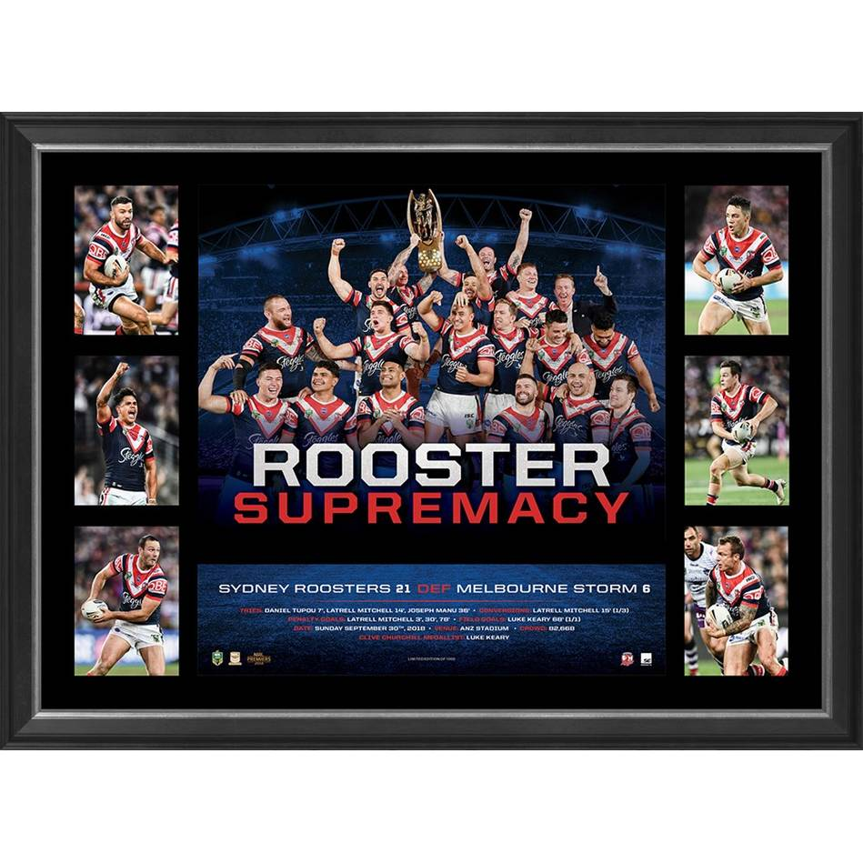 Sydney Roosters 2018 NRL Premiers 'Rooster Supremacy'0