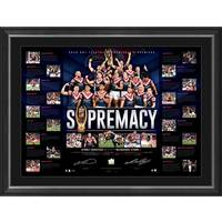 Sydney Roosters 2018 NRL Premiers Dual Signed 'Supremacy'0