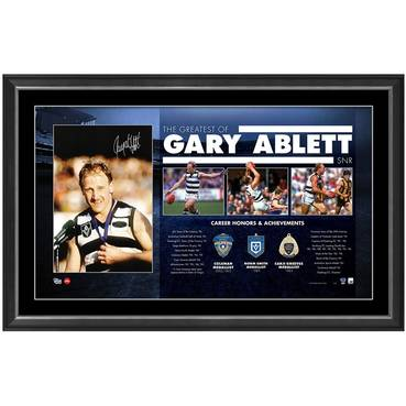 GARY ABLETT SNR SIGNED 'THE GREATEST'