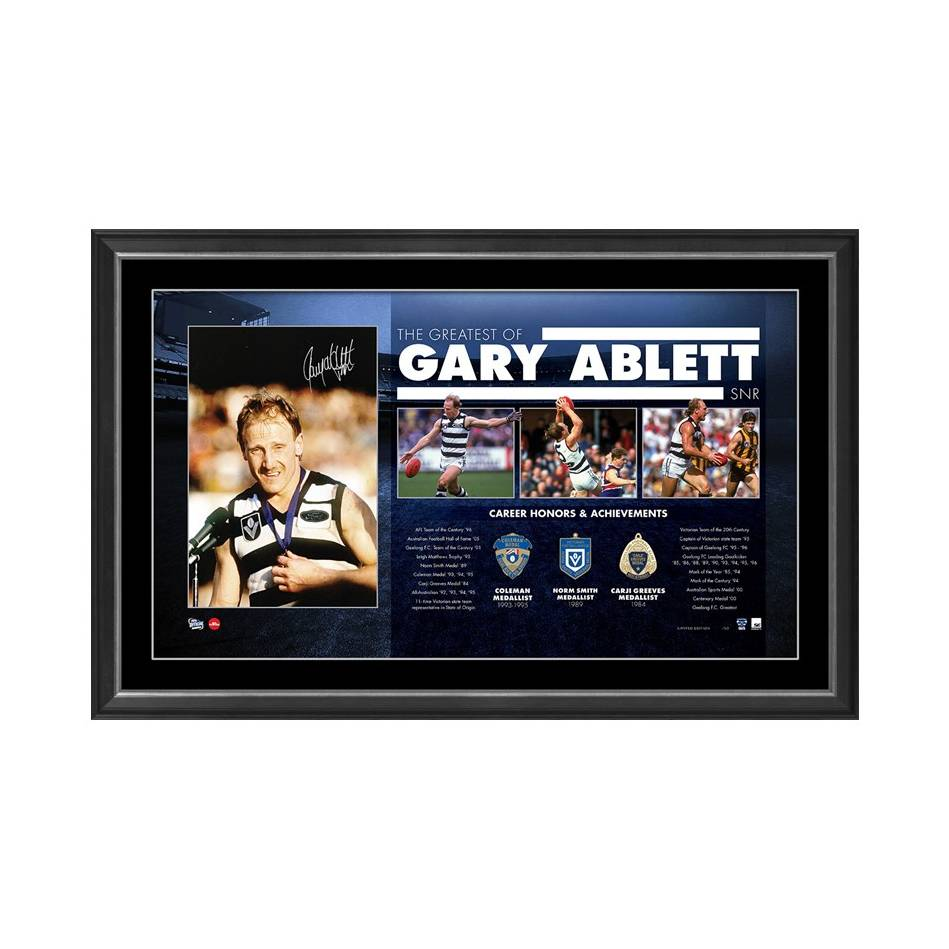 mainGARY ABLETT SNR SIGNED 'THE GREATEST'0