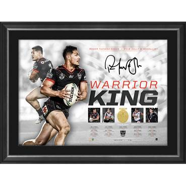 Roger Tuivasa-Sheck Signed 'Warrior King'