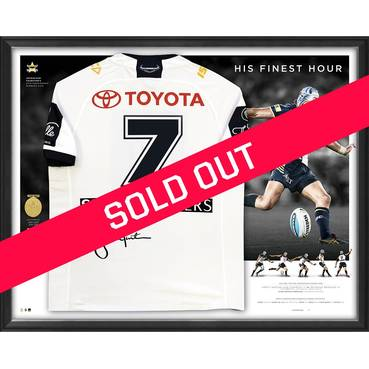 Johnathan Thurston Signed 'His Finest Hour' Deluxe Jersey