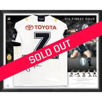 Johnathan Thurston Signed 'His Finest Hour' Deluxe Jersey0
