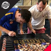 West Coast Eagles 2018 AFL Premiers Dual Signed 'We are the Eagles'1