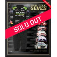 Craig Lowndes Signed 'Magnificent Seven'0