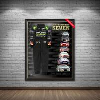 Craig Lowndes Signed 'Magnificent Seven'1