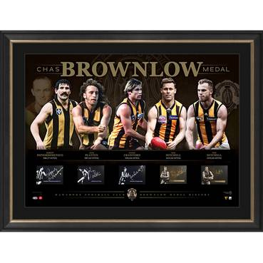 Hawthorn Football Club Signed 'History of the Brownlow'