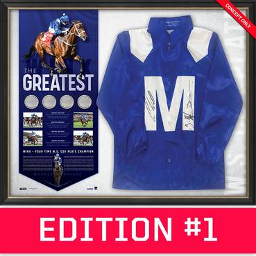 *Edition 1* Winx Dual Signed 'The Greatest'