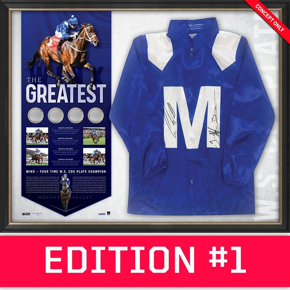 main*Edition 1* Winx Dual Signed 'The Greatest'0