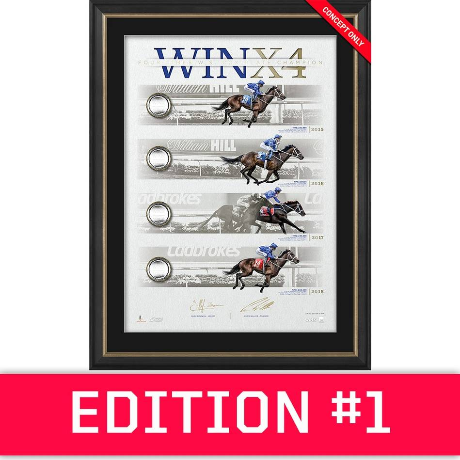 main*Edition 1* Winx Dual Signed 'WINX4' Deluxe0