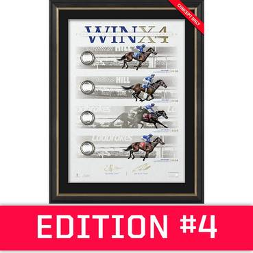 *Edition 4* Winx Dual Signed 'WINX4' Deluxe