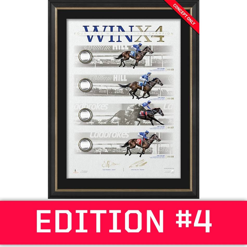 main*Edition 4* Winx Dual Signed 'WINX4' Deluxe0