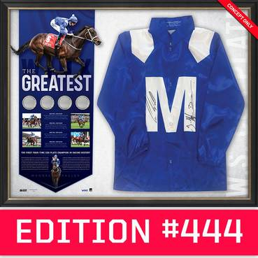 *Edition 444* Winx Dual Signed 'The Greatest'