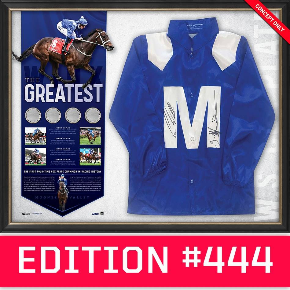 main*Edition 444* Winx Dual Signed 'The Greatest'0
