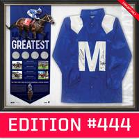 *Edition 444* Winx Dual Signed 'The Greatest'0