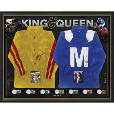 WINX & KINGSTON TOWN DUAL SIGNED SILKS