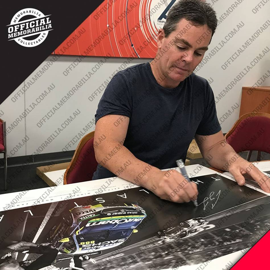 mainCraig Lowndes Signed 'The Last Lap'1