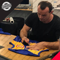 West Coast Eagles 2018 AFL Premiers Team Signed 'Flying High'1
