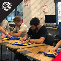 West Coast Eagles 2018 AFL Premiers Team Signed 'Flying High'2