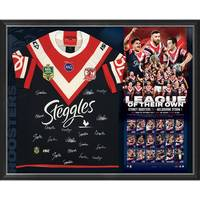 Sydney Roosters 2018 NRL Premiers Team Signed 'League of Their Own'0