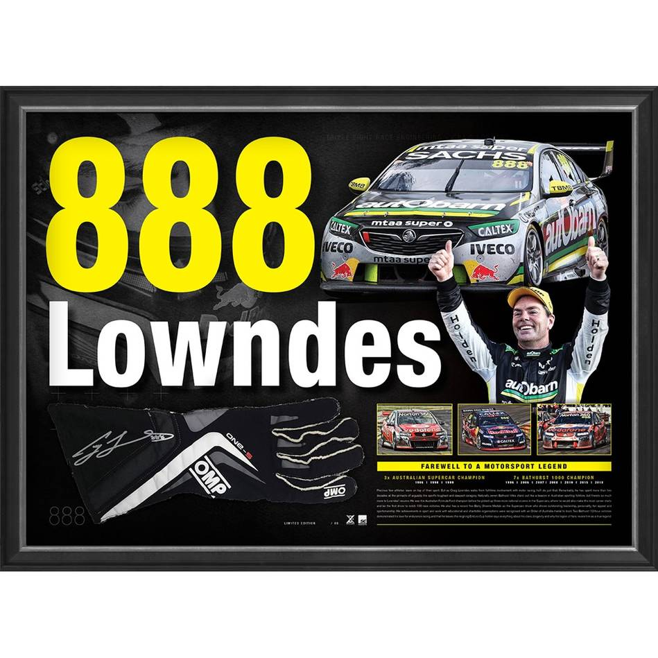 mainCraig Lowndes Signed '888 Lowndes'0