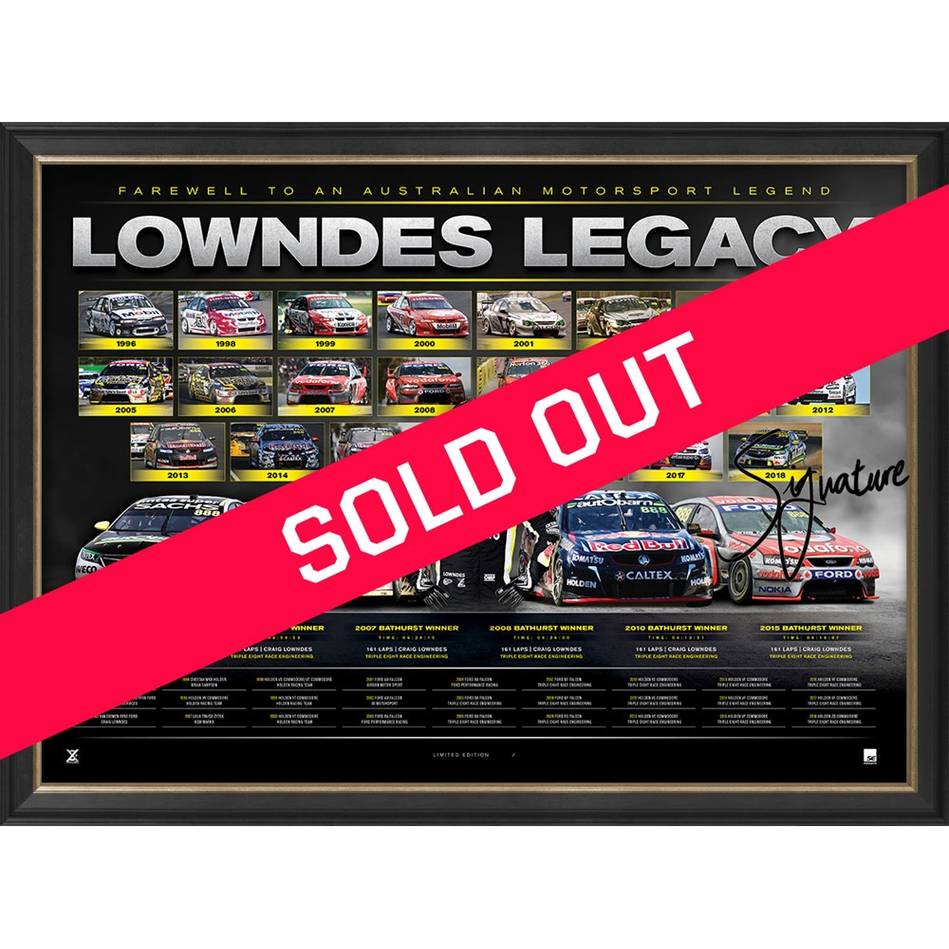 mainCraig Lowndes Signed 'Lowndes Legacy'0