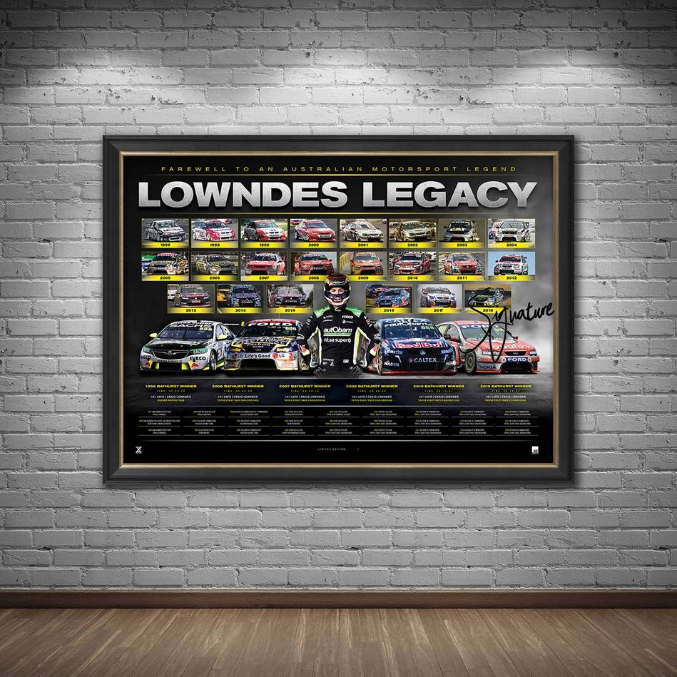mainCraig Lowndes Signed 'Lowndes Legacy'1