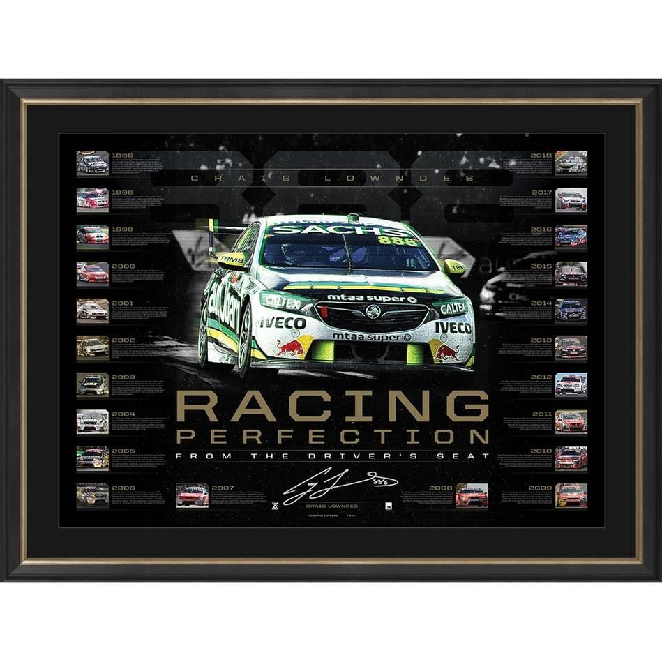 mainCraig Lowndes Signed 'Racing Perfection'0