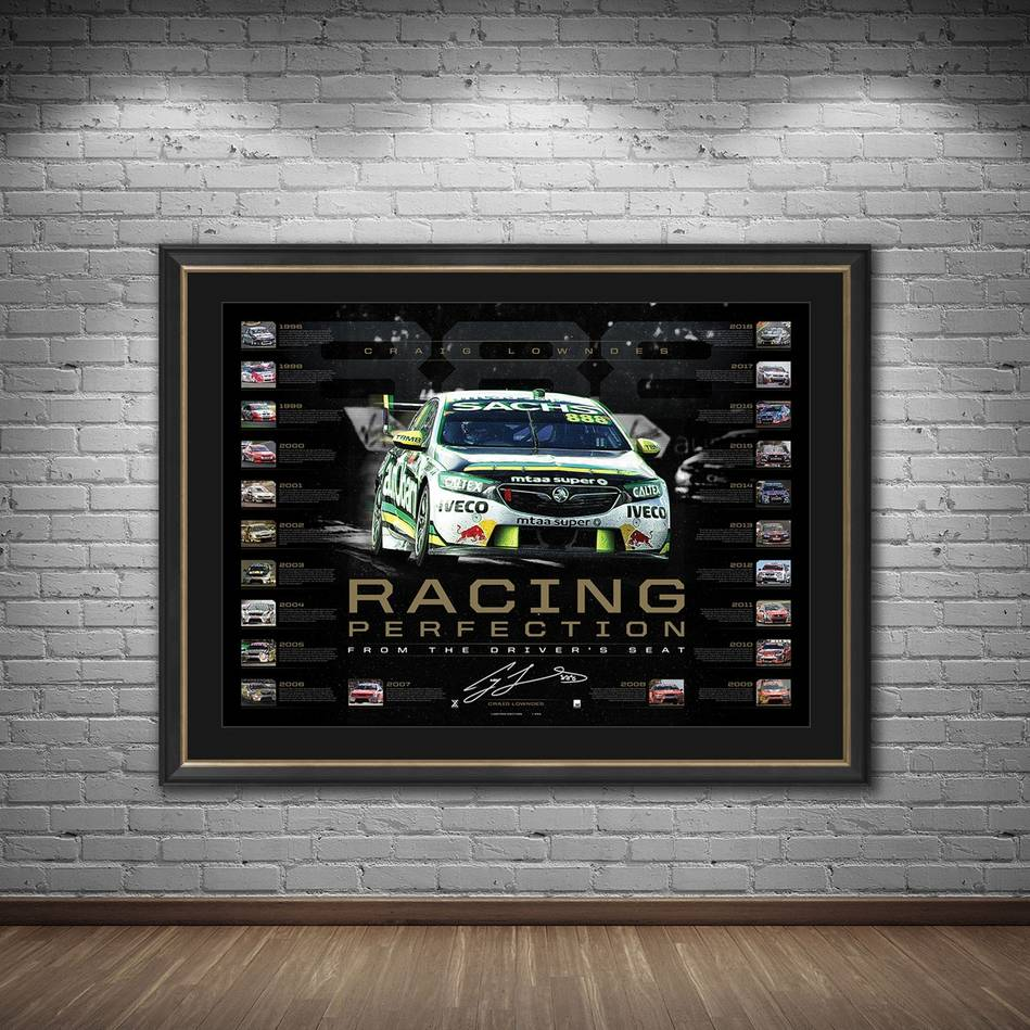 mainCraig Lowndes Signed 'Racing Perfection'1
