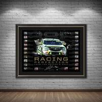 Craig Lowndes Signed 'Racing Perfection'1